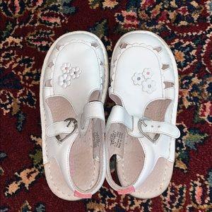 Stride Rite Shoes - kids stride rite white sandals
